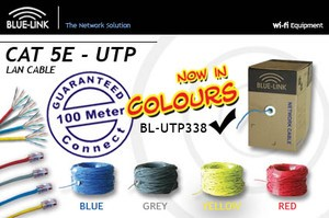 Bluelink Kabel UTP Cat 5e - 4 Warna