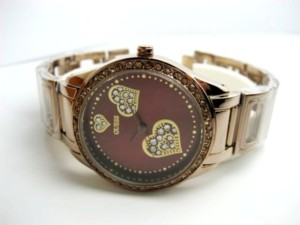 GUESS WOMEN CHAIN GSW-CL 102  (BROWN)