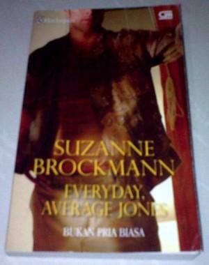 Novel Harlequin Suzanne Brockman - Everyday, Average Jones (Bukan Pria