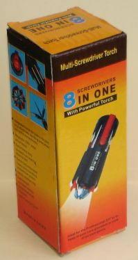 Multi Screw Driver Torch (New)