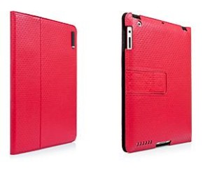 Capdase Protective Case Folio DOT iPad2 New Slim Red