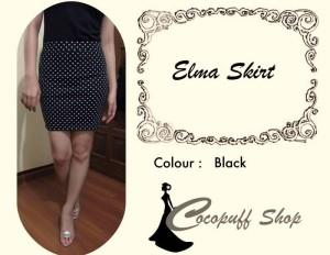 CODE : Elma Skirt Black