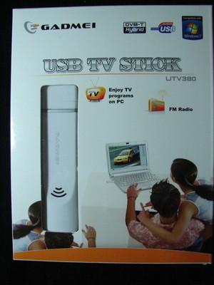 TV TUNER STICK USB BOX GADMEI UTV380