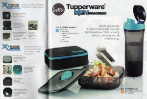 Tupperware Men - Botlle