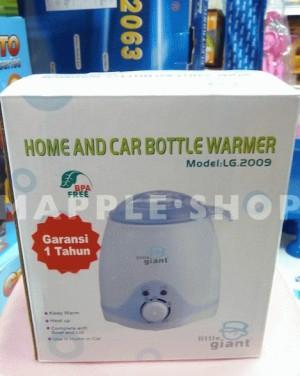 LITTLE GIANT HOME & CAR BOTTLE WARMER - PENGHANGAT BOTOL SUSU & MAKANAN BAYI