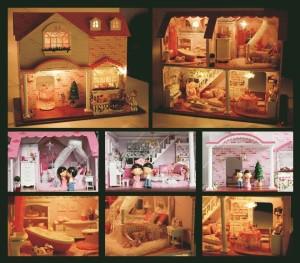 DIY Mini House - PINK SWEETHEART