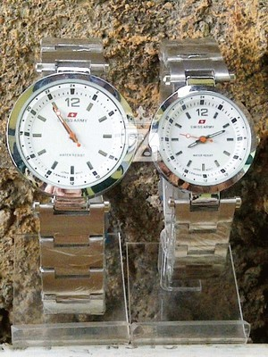 SWISS ARMY BOTTLE COUPLE (WHITE)