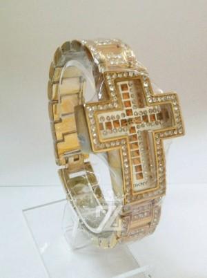 DKNY GOLD CROSS DIAMOND