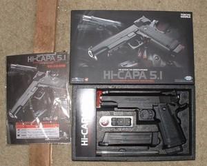 Air Soft Gun TM Hi-Capa 5.1