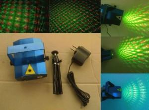 Laser stage