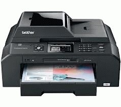 PBI005-Printer Brother Inkjet MFC-J5910DW + Infus