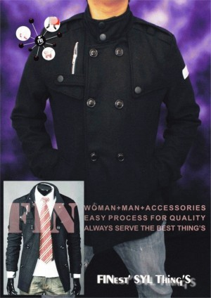 Jaket Bahan Katun FIN-MT004