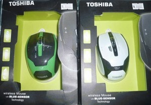 mouse wireless MERK TOSHIBA with blue-sensor technology