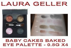 LAURA GELLER - BABY CAKES BAKED EYESHADOW PALETTE