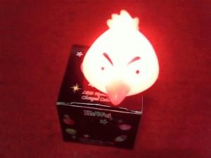 Lampu LED kamar tidur model angry bird