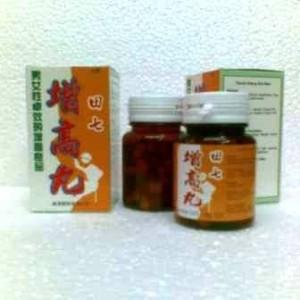 Tienchi Cen Kao Wan, Obat Peninggi Badan Herbal