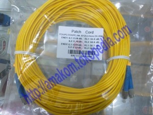 Patchcord SM FC-FC 20m Dx, Corning