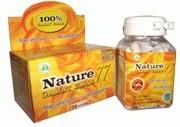 Nature Gamat Emas 70 capsule harga promo