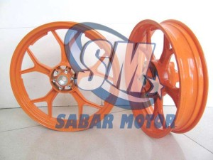 Velg Chemco Wide Rim For TIGER REVO DOUBLE DISC (orange repsol)