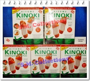 Rp 16.000,- Kinoki, Cleansing Detox Foot Pads (1 Box Isi 10 Pads)