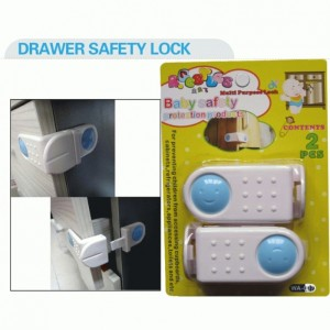 WA-007 Door Fridge Drawers Cabinet Safety Lock For Kids Baby