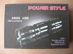 Senter Polisi 500 LM Power Style