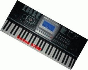 Keyboard orgen techno 9700