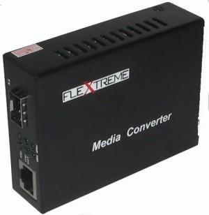 Flextreme FL-8110G-SFP-AS: Media Converter 10/100/1000 Mbps to SFP Slot
