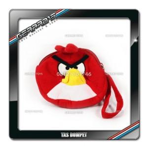 Tas Sarung Handphone Angry Bird Red