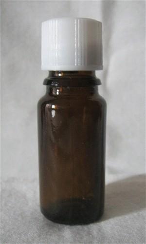 Botol Toples Kaca 10ml, Tutup Plastik / Glass Bottle 10ml, Plastic Cover