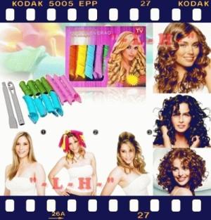 Instant Curl Magic LEVERAG - Rambut Ikal Instan, Alami, & Sehat Tanpa Pemanas