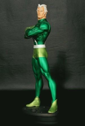 Quicksilver Green statue