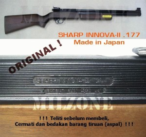 Senapan Angin Pompa_Sharp INNOVA-II (Original JAPAN)