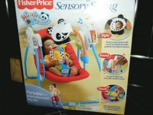 Fisher price take along Sensory Swing