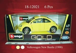 VW New Betlle(1998) Bburago