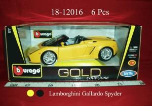 Lamborghini Gallardo Spyder(bburago)