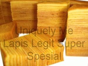 Lapis Legit Super Spesial (Full Wysjman Butter) Uk.20x20