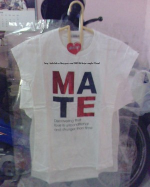Couple T-Shirt / Baju Pasangan, Baju Family / Triple Shirt