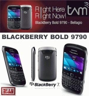 BLACKBERRY Onyx 3 9790 BELLAGIO Black  AND white (NEW GARANSI RESMI)