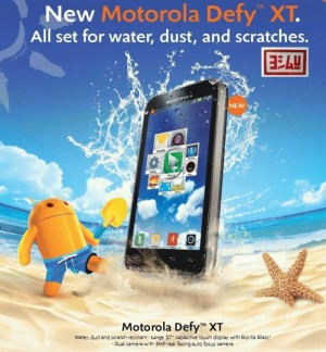 Motorola Defy MINI XT 321 | The Dual CAMERA GSM-SIM OUTDOOR DroidPhone + BONUS LENGKAP !