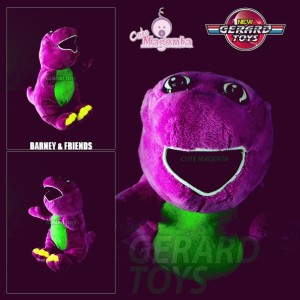 Boneka - Barney with Song - Medium