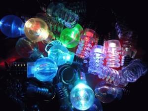 gantungan kunci lampu xL 7 warna