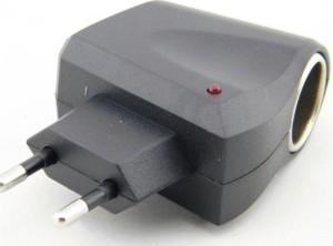 220v to 12v home car cigarette lighter power converter plug
