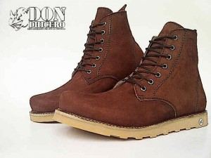 SEPATU DON DHICERO CELTS BROWN SOL RATA