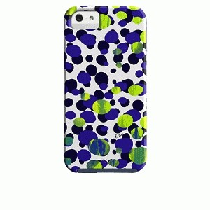 Case-Mate iPhone 5 Tough OlympiaBlue Elizabeth Lamb - Ink Spot
