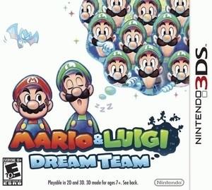 Nintendo 3DS Mario & Luigi - Dream Team