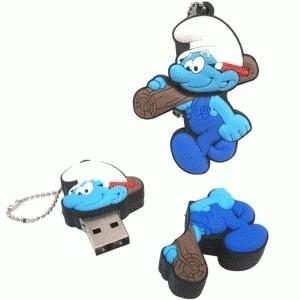 USB FLASHDISK SMURF 8GB