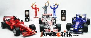 Mainan Racing Car Set 1:21