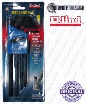 Long Ballpoint Hex Key Set 9 Pcs 1.5-10 mm EKLIND