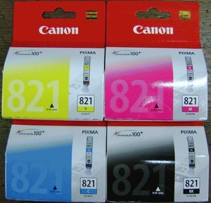 Original Canon Ink Cartridge CLI-821